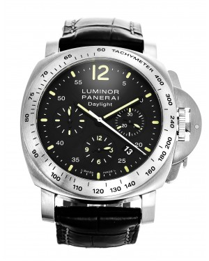 Fake Panerai Luminor Chrono Daylight 44mm Watch PAM00250