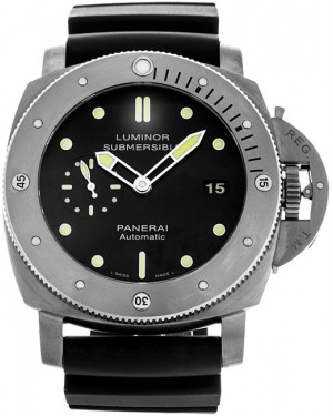Fake Panerai Luminor 1950 Submersible 3 Days Automatic 47mm Titanium Watch PAM00305