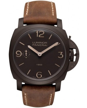 Fake Panerai Luminor Composite 1950 3 Days 47mm Watch PAM00375