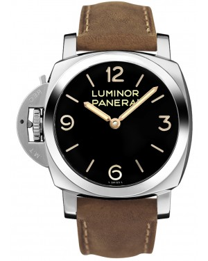 Fake Panerai Luminor 1950 Left-Handed 3 Days Acciaio PAM00557