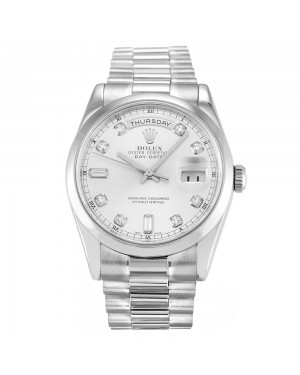 Fake Rolex Day-Date Silver 118209