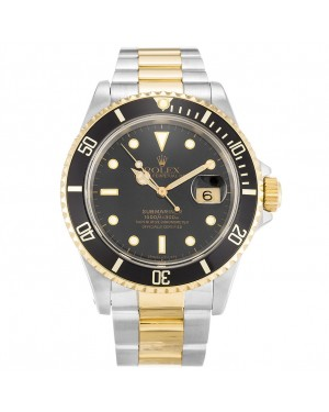 Fake Rolex Submariner Black Dial 16613
