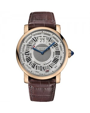 Fake Cartier Rotonde De Cartier Annual Calendar Watch W1580001