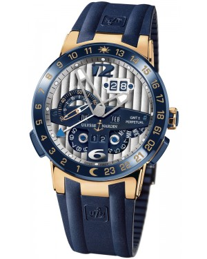 Fake Ulysse Nardin El Toro GMT +/- Perpetual Calendar 43mm Watch 326-00-3