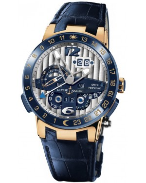 Fake Ulysse Nardin El Toro GMT +/- Perpetual Calendar 43mm Watch 326-00