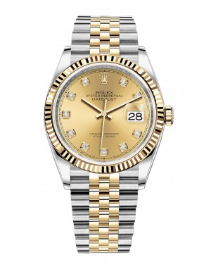 Fake Rolex Datejust 36mm m126233-0017