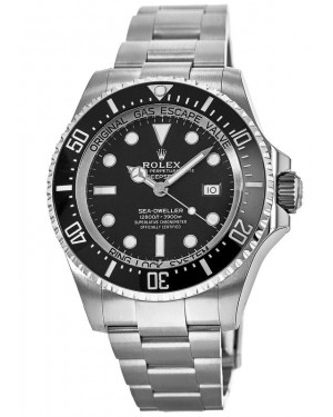 Fake Rolex Deepsea 44mm Oystersteel Watch m126660-0001