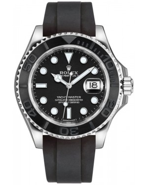 Fake Rolex Yacht-Master 42 White Gold Watch m226659-0002